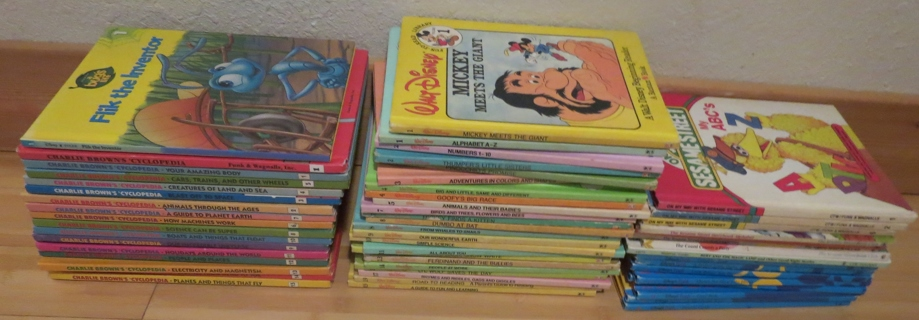 Free Lot Kids Books Charlie Brown Encyclopedia Set 1 15