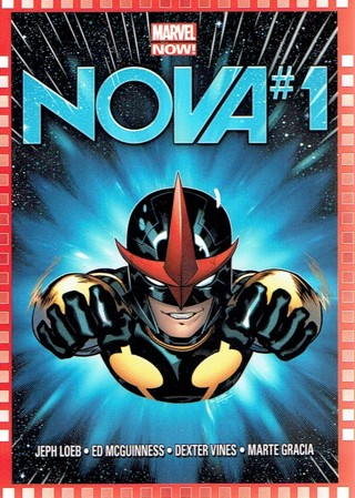 2013 Marvel Now Collectible Card #124 Nova #1