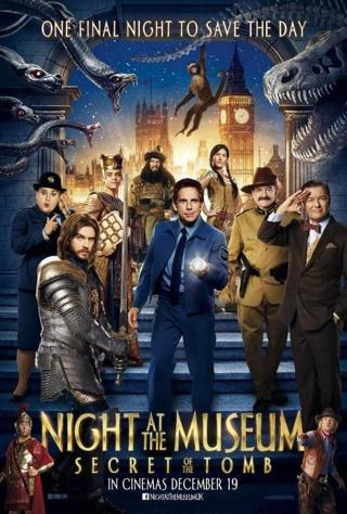 Night at the Museum Secret of the Tomb (HDX) (Movies Anywhere) VUDU, ITUNES