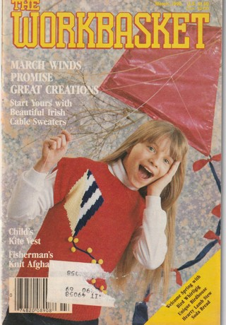 Workbasket Craft Book: Crochet, Knitting, Sewing, Patterns, How To: March 1990