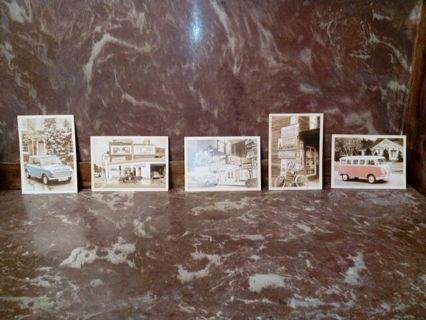 Vintage Americana Postcards
