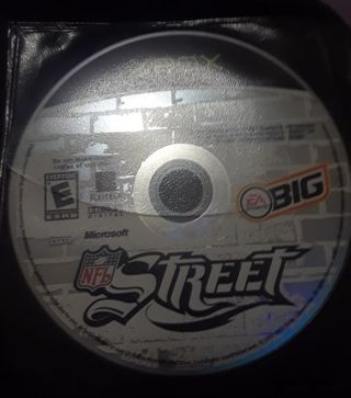 NFL STREET XBOX VIDEO GAME