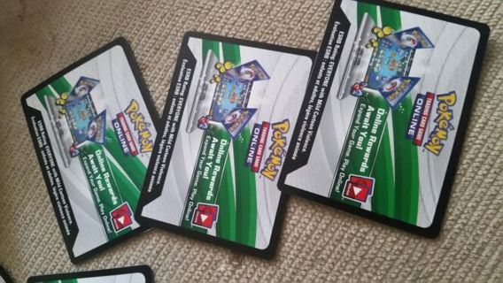 Pokemon online codes #2