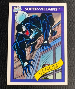 1990 Impel Marvel Universe Series 1 #73 Venom Super-Villains $$$