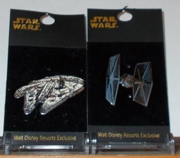 Star Wars Walt Disney Resorts Exclusives pins