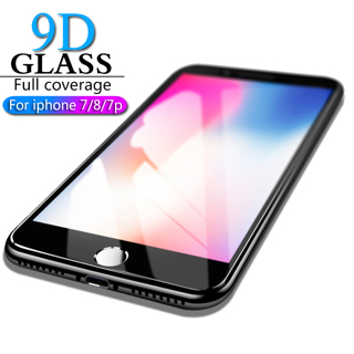 HICUTE 9D Protective Glass for iPhone 7 8 screen protector iPhone 7 8 plus Tempered Glass on iPhone