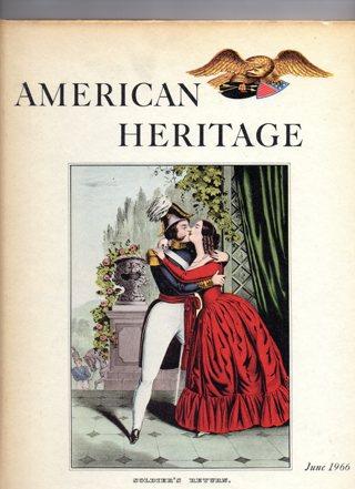 Vintage American Heritage Hard Covered Book: June 1966