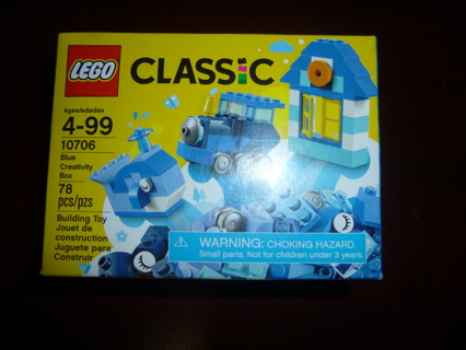 New Lego Classic Blue Creativity Box 10706