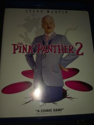 Pink panther 2 digital code (for itunes only)