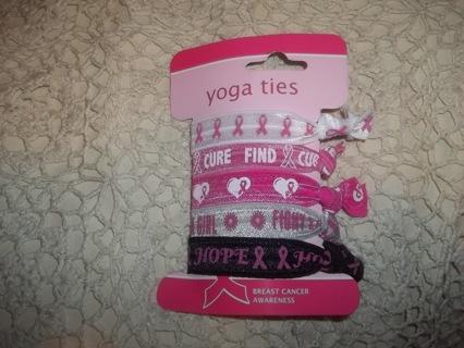 BREAST CANCER YOGA/WRIST TIES