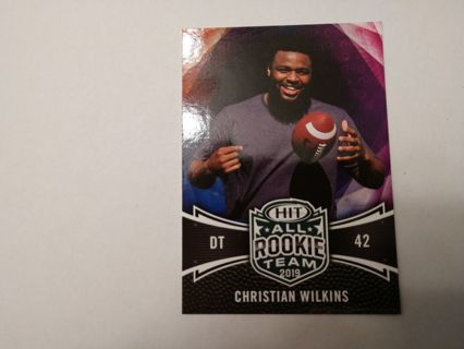 Christian Wilkins rookie miami dolphins