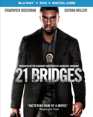 21 Bridges (Digital HD Download Code Only) *Chadwick Boseman* *Taylor Kitsch* *Sienna Miller*