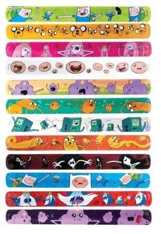 1 NEW Cartoon Network Adventure Time Slap On Bracelet Wristband Jewelry