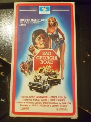 Bad Georgia Road VHS