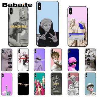 Babaite Alternative statue art DIY Printing Drawing Phone Case cover Shell for iPhone 8 7 6 6S Plu
