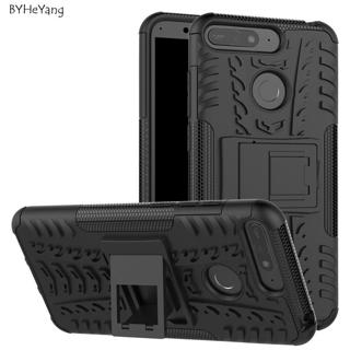 BYHeYang For Huawei Honor 7A Pro Case Heavy Rugged TPU+PC Armor Shockproof Kick Stand Cover For Hu