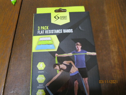 New! 3 Pack Bands/ Therapeutic