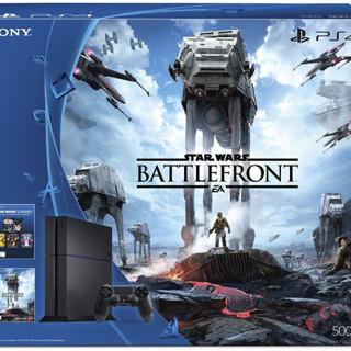 PS4 500GB Console – Star Wars Battlefront Bundle