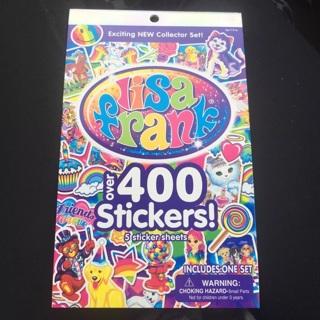 Lisa Frank sticker book