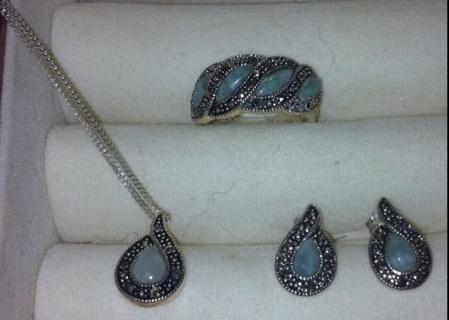 925 Avon Sterling Silver Set