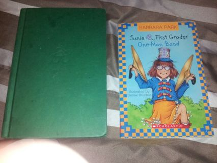 2 Junie B., First Grader Books