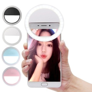 Beauty Selfie Led Light Camera Phone Photography Selfie Light for iPhone Sumsang Smartphone