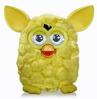 Yellow furby