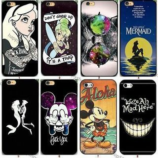 New Mouse Cartoon Hard back Phone Case Cover for iphon e 5s 4s i Phone 6s 7 Plus