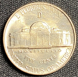SILVER 1943-D Nickel