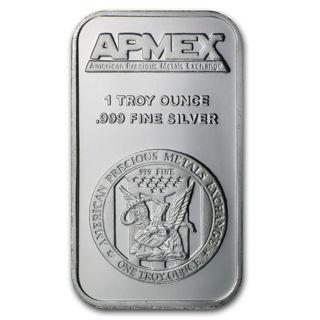 1 oz Silver Bar - APMEX sealed
