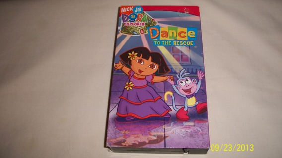 Free: Dora - Dance to the Rescue VHS Tape - VHS - Listia ...