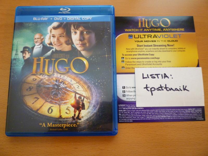 Free: Hugo Ultraviolet (UV) HDX Hi-Def digital copy code