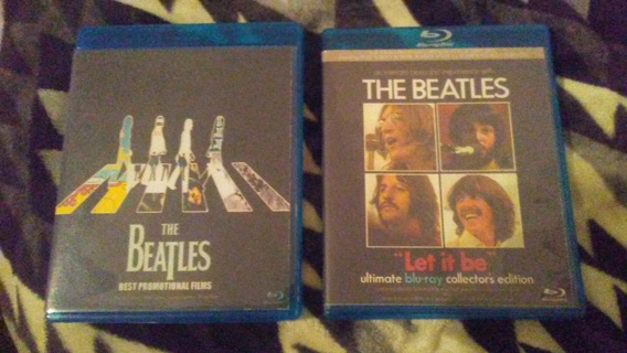 LIMITED SET BLUE RAY  BEATLES ABBEY ROAD & COLLECTIONS