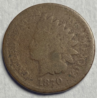 1870 Indian Head Cent (RARE DATE $$)