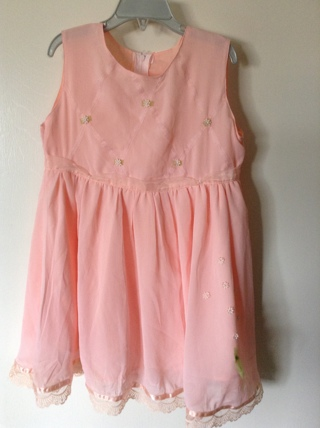 pink girl dress size 3T