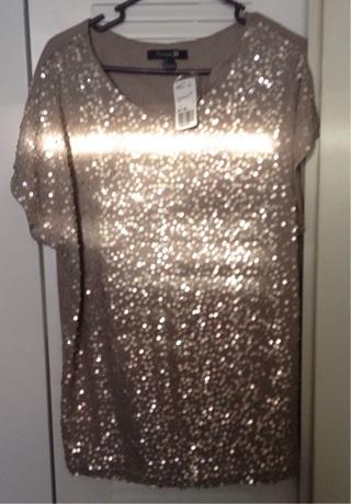 Sparkly dress shirt