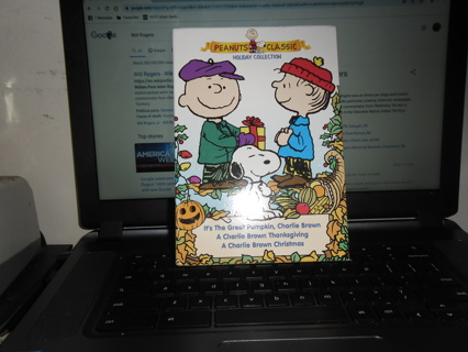 peanuts classic holiday collection  3 dvd set