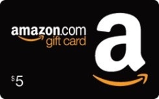 $5 Amazon Gift Card & Mystery Gift Card