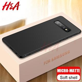 Ultra Thin Matte Silicone Cover Case For Samsung Galaxy S10 S10E S7 Edge S8 S9 Plus A6 A8 J4 J6 A5
