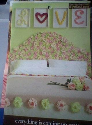 rosey bedroom