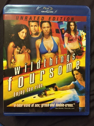 WILDTHINGS:FOURSOME UNRATED BLU-RAY