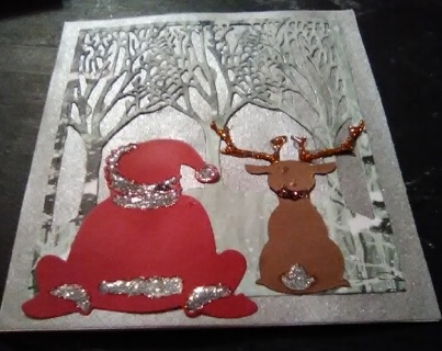 """"""" Holiday Cheer"""" New Design Blank Note Card with Envelope"""
