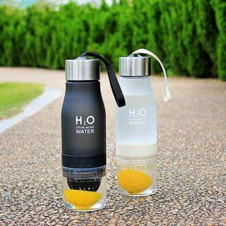 650ml Water Bottle plastic Fruit infusion bottle Infuser Drink Outdoor Sports