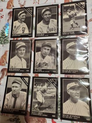 9 Conlon Collection Sporting News Cards