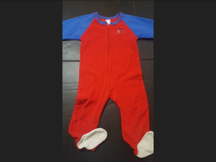 Greener Infants Size 24 Months Footie Pajamas! Great Condition!