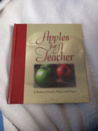 New Book Apples foe A Teacher