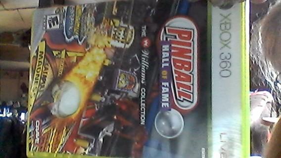 xbox360 pinball hall of fame