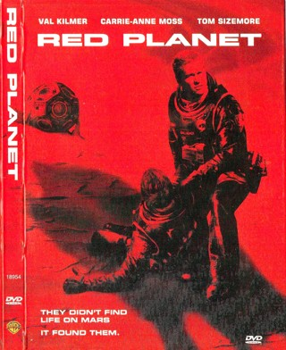 """""""RED PLANET"""" – DVD – WS – 2000 – Val Kilmer – Rated PG-13"""