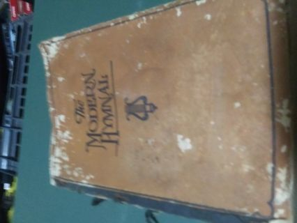 ANTIQUE THE MODERN HYMNAL Robert Coleman RARE Paperback 1926 Edition