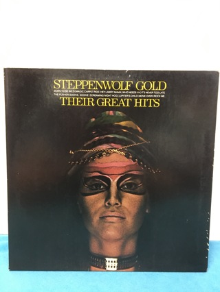 L161 STEPPENWOLF GOLD GREAT HITS RECORD ALBUM